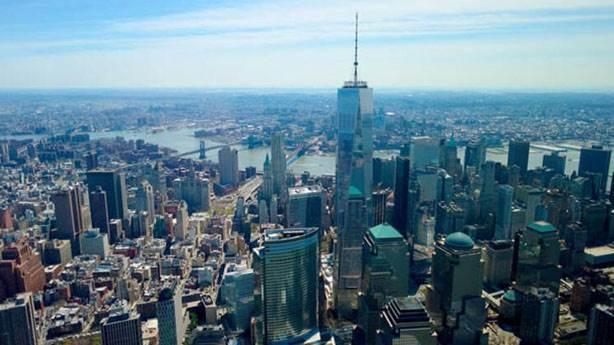 6- One World Trade Center (Özgürlük Kulesi) – 541.3 metre (New York City, ABD)