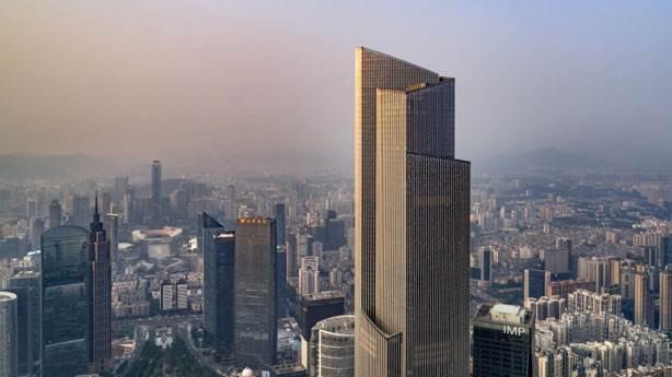 7- Guangzhou CTF Finance Center – 530 metre (Guangzhou, Çin)