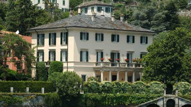 2- George Clooney'in Evi - Lake Como Charmer