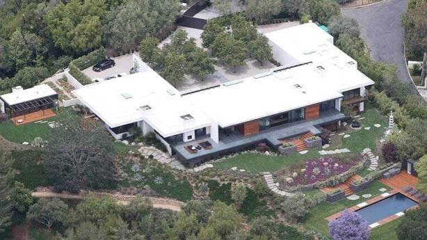 4- Jennifer Aniston'un Evi - Bel Air Malikanesi