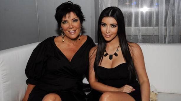 Kim Kardashian ve Kris Jenner'ı hedef aldı