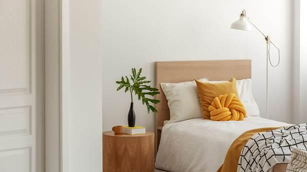 9- Temiz çarşafların üstünde uyumak