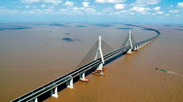 6- Donghai Köprüsü