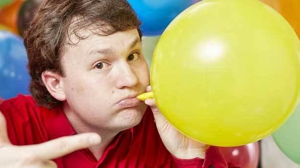 D&uuml;nyada en hızlı balon şişirme rekoru<br /> &nbsp;