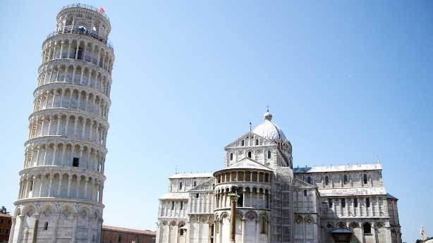 Pisa Kulesi yamuk yapılmıştı<br /> &nbsp;