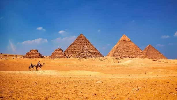Piramitleri k&ouml;leler yapmadı<br /> &nbsp;