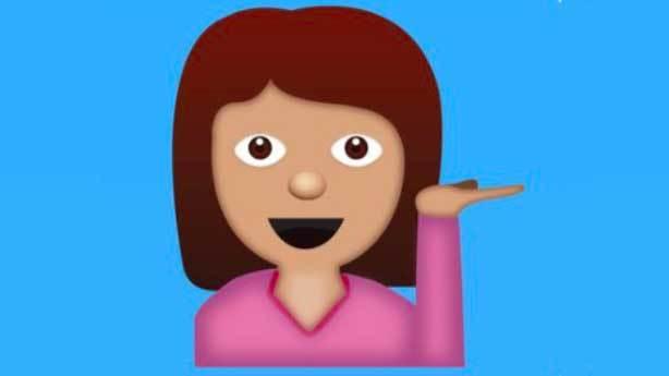 Yardımcı olabilir miyim emojisi<br /> &nbsp;