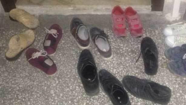 Ayakkabıları içeri almayan tayfa
