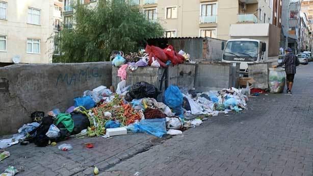Sokağa çöp atanlar
