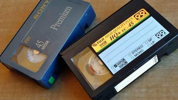 VHS kasetler