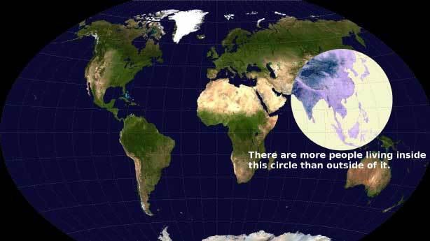 Dünyanın en kalabalık yuvarlağı
