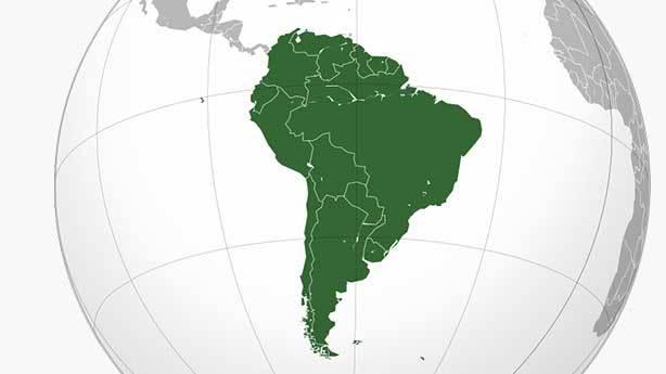 4- Güney Amerika