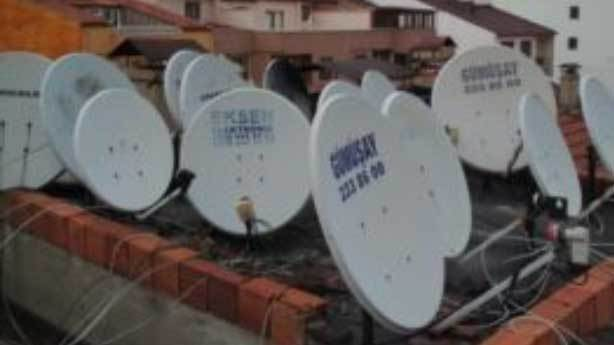 Uydu antenleri