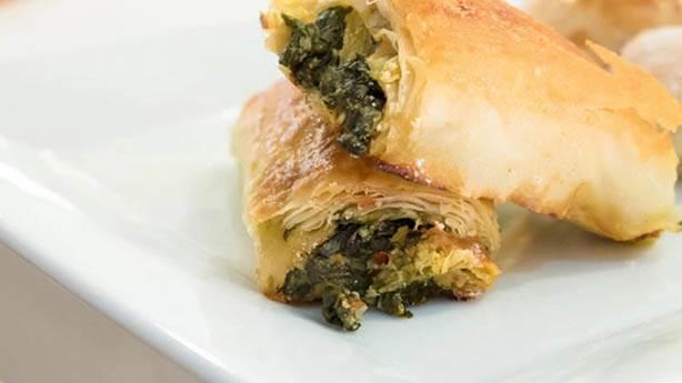 6- Spanakopita / Ispanaklı börek