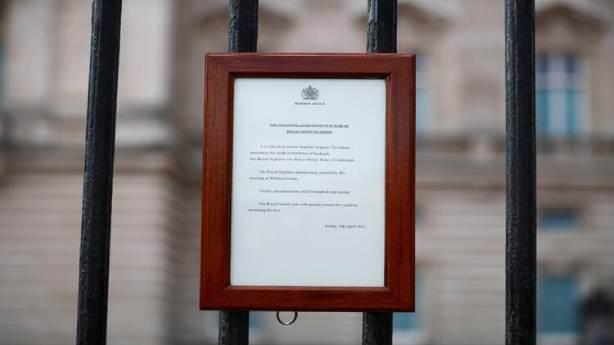 Buckingham Sarayı'ndan yapılan açıklama