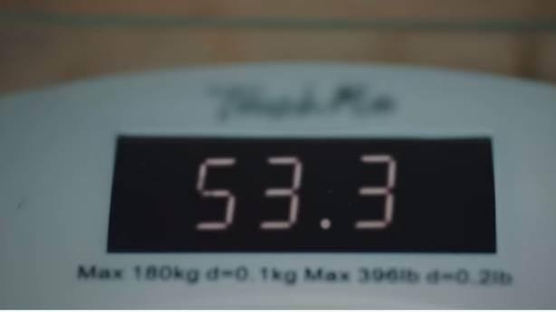 """""""53 ideal kilo, gerisi boşa yük"""""""