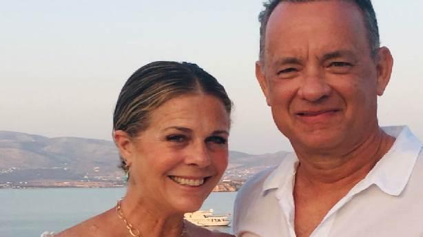 Tom Hanks ve Rita Wilson'dan 33. yıl kutlaması