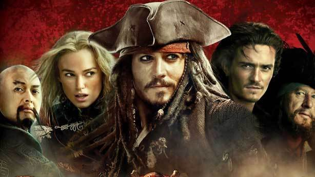 5- Pirates of the Caribbean: At World's End