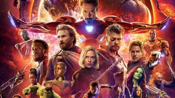 4- Avengers: Infinity War