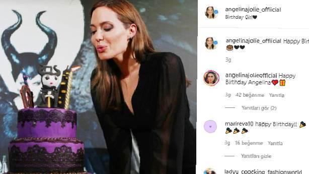 Angelina Jolie'den 46. yaş kutlaması