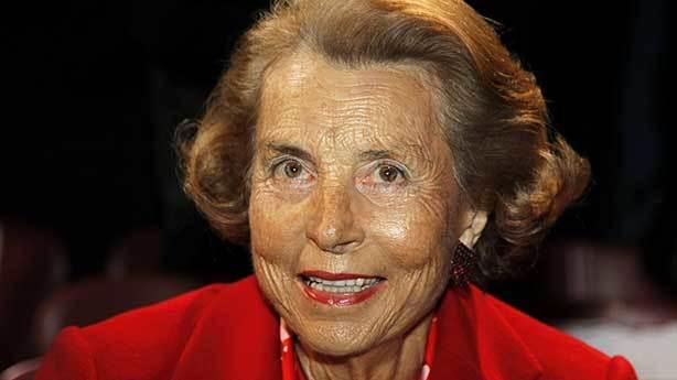 Liliane Bettencourt (L'Oreal'in mirasçısı)