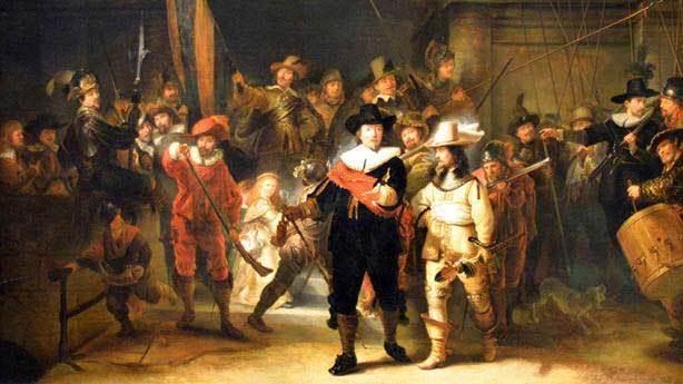 Rembrandt: 'Gece Devriyesi' gündüz resmedilmiş!