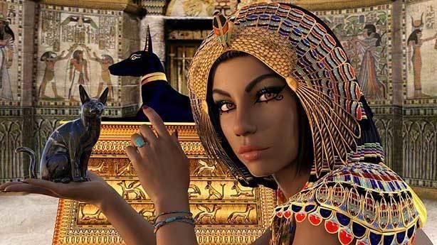 Kleopatra Mısırlı değildi