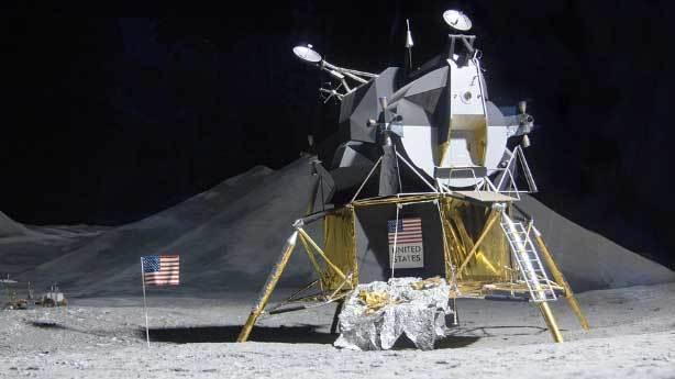 Uzaydan toprak almak