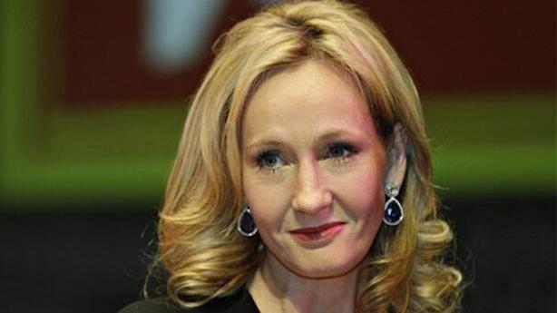 3- J.K. Rowling