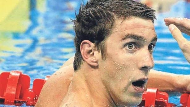 8- Michael Phelps