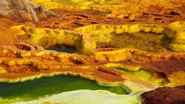 Danakil Çölü, Etiyopya