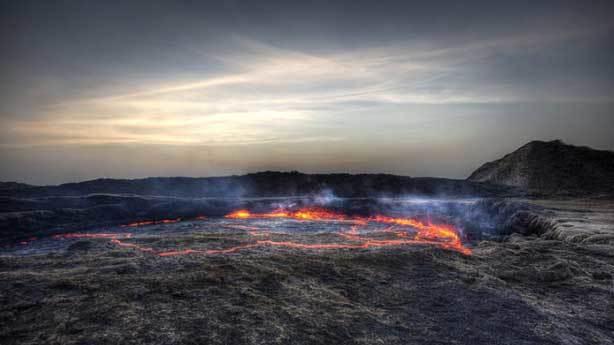 Erta Ale Yanardağı, Etiyopya
