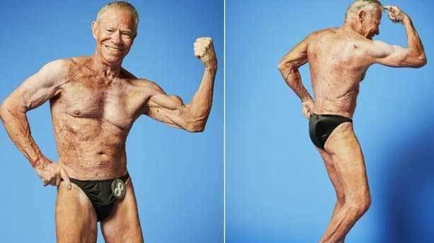 Dünyanın en yaşlı vücut geliştirici