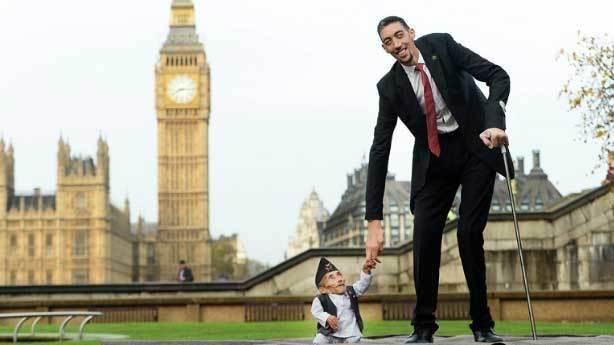 Dünyanın en uzun insanı