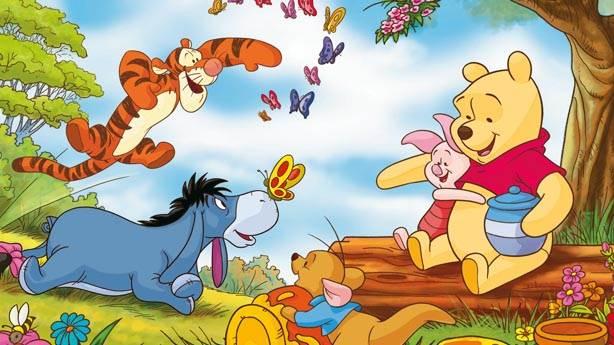 1- Winnie the Pooh