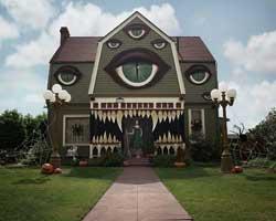 Cadılar Bayramı'na evini böyle hazırladı!