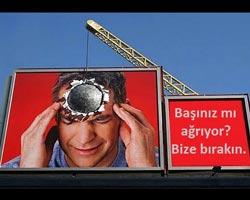 Beynimizin nöronlarına ışık astın! Çok etkileneceğiniz billboard çalışmaları.