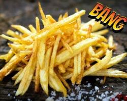 Efsanevi yiyecek - Patates kızartması!  Haberin sonunda kendinizi mutfakta bulabilirsiniz.
