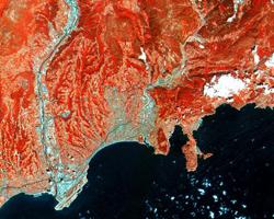 Yeryüzünden sekiz etkileyici uydu görüntüsü