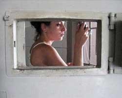Kadın mahkumların en özel görüntüleri!