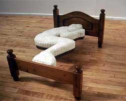 Çılgınlıkta çığır açmış yatak tasarımları!