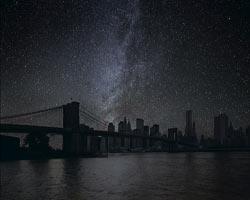 Dünyayı yalnızca yıldızlar aydınlatsaydı nasıl görünürdü?