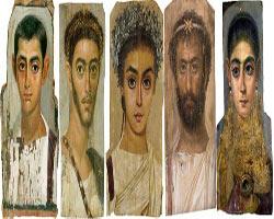Tarihin bilinen ilk portreleri bulundu