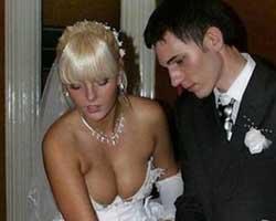 Yok artık dedirten düğün fotoğrafları...