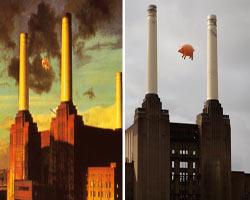 Pink Floyd'un domuzu, 40 yıl sonra yeniden Londra semalarında