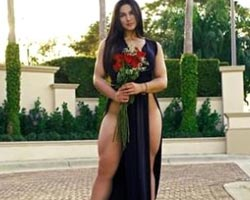 Vücuduyla şoke eden Rus fitness güzeli!