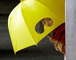 Japonların şemsiyeleri bile farklı!