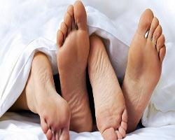 Ayakların cinsellikle garip bir ilgisi çıktı!