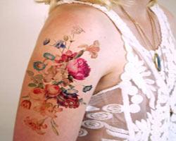 Alışılmış dövme tarzlarının dışında 18 suluboya dövme
