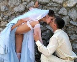 Dünyanın en ilginç düğün fotoğrafları!